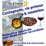 Castagnade et Vin Nouveau Vendredi 26 Octobre 18h au Récatadou