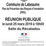 Réunion Publique PPRI Lundi 25 mars à 18h au Récatadou