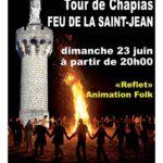 Feu de la Saint Jean Dimanche 23 juin 20h00 Tour de Chapias