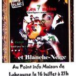 Les Fous sans Blanc, mardi 16/07 Maison de Labeaume 21h
