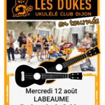 UKULELE, mercredi 12/08 18h30, place du Sablas, gratuit