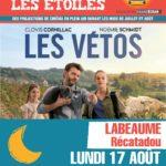 Cinéma sous les étoiles, lundi 17/08 21h30 Récatadou