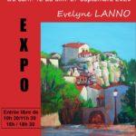 Expo Evelynne LANNO, du 12/09 au 27/09 Maison de Labeaume