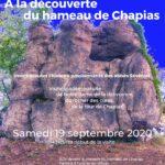 Journée du patrimoine, visite du hameau de Chapias le 19/09 à 14h