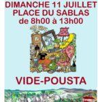 Vide Pousta dimanche 11/07 (CONCOURS DE BOULES ANNULE)