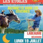 Cinéma sous les Etoiles Lundi 19/07 à partir de 21h30