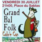 Bal Folk, Samedi 30/07 Place du Sablas
