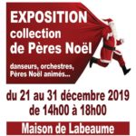 Exposition collection de Pères Noël