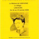 Exposition de Peinture du 16 au 19/01 Maison de Labeaume