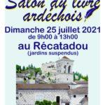Salons des auteurs Ardéchois, dimanche 25 juillet au Récatadou