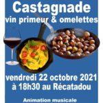 Castagnade, Vin Primeur et Téléthon